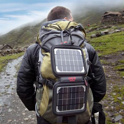 güneş enerjili sırt çantası, solar enerji