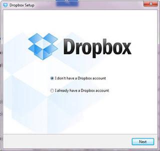 dropbox setup