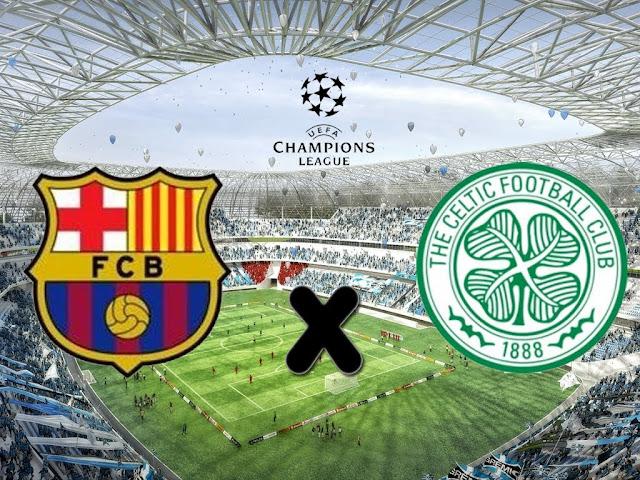 Barcelona x Celtic (13/09/2016) - Prognóstico, Horário e TV