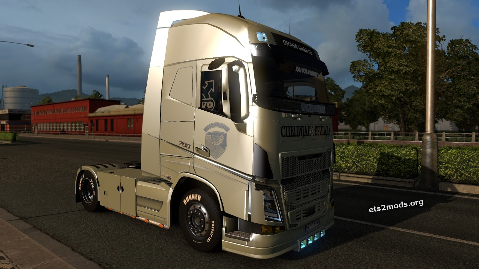Special Unit Skin for Volvo FH 2013