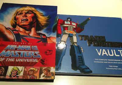 The Art of He-Man and the Masters of the Universe Transformers the Vault