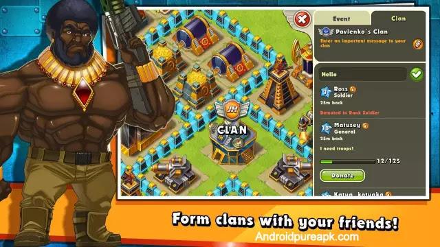 Jungle Heat: War of Clans Apk