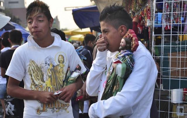 San Judas Tadeo, el santo preferido de los delincuentes: Analistas