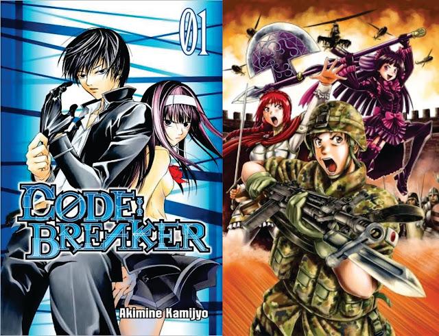 Code:Breaker 207 / Gate: Jietai Kare no Chi Nite Kaku Tatakeri 40