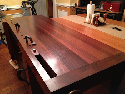 Mahogany Roubo Workbench Woodworking Talk Woodworkers Forum