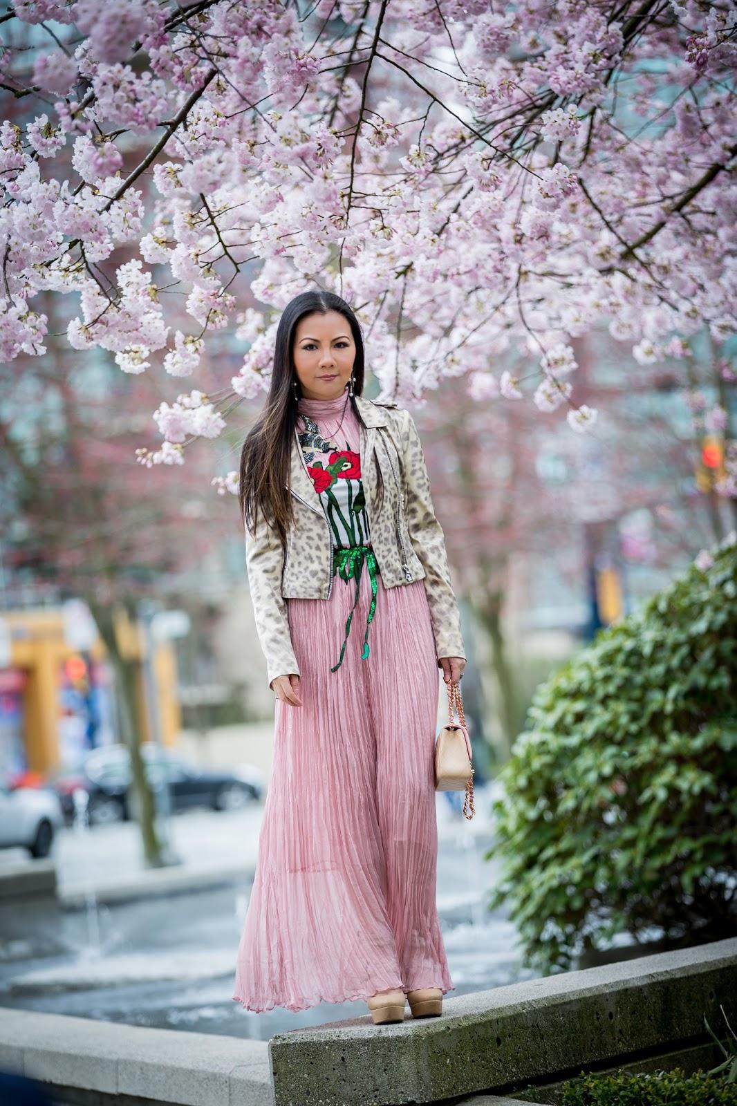 Valentina And Aveline Spring Love Sakura In Full Bloom