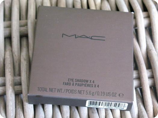 MAC Temperature Rising Eye Shadow Quad Review