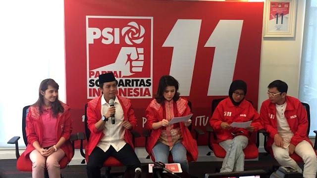 PSI Teken Berkas Dukungan Jokowi-Ma'ruf Meski Dicoret KPU
