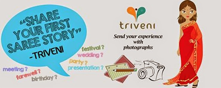 d6ea7bfb74c TRIVENI HOSTS CONTEST - SHARE YOUR FIRST SAREE STORY