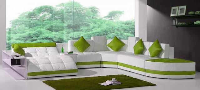 Modelos De Sillones Sof Verde Para Sala