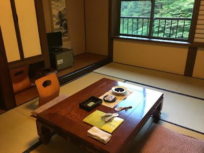 姥湯温泉の部屋
