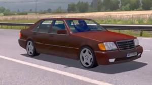 Mercedes S600 W140 v 1.1 car mod