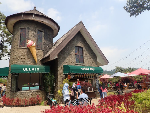 gelato di the ranch cisarua puncak