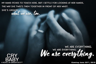 #Teaser ~ Cry Baby by Ginger Scott ~ #ComingSoon @TheGingerScott @wordsmithpublic