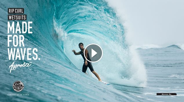 Mason Ho Made For Waves Wetsuits by Rip Curl