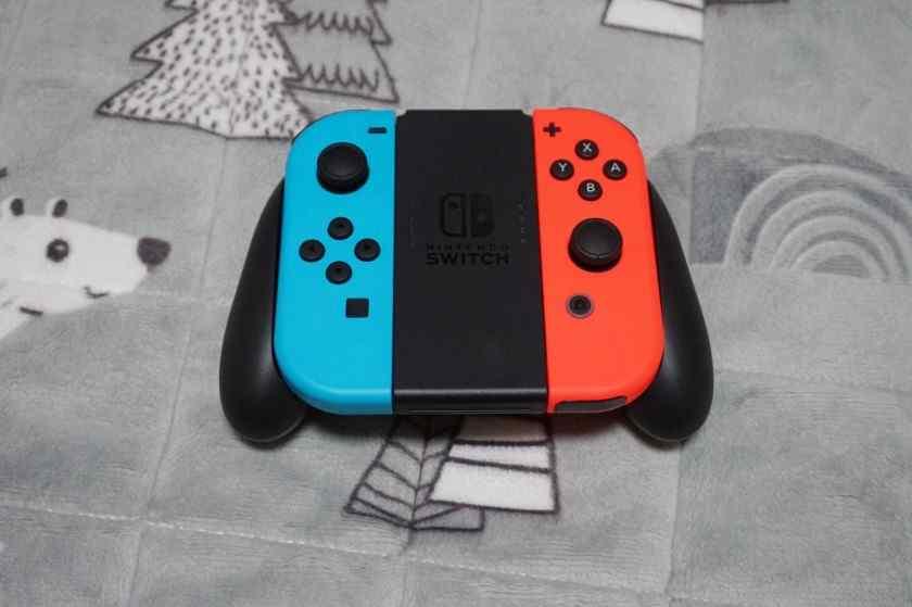 Nintendo switch neon jeux