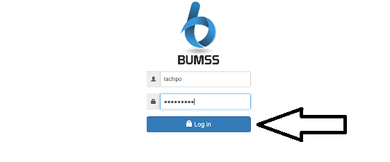 log in Bumss