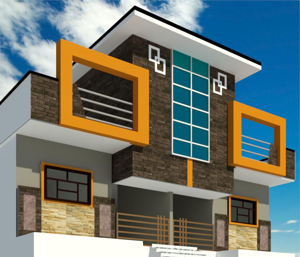 25 X 40 Elevation Design Ideas
