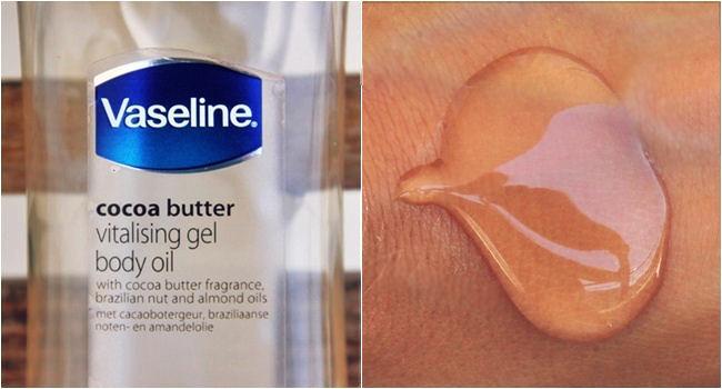 Vaseline Cocoa butter Vitalizing gel ulje za telo