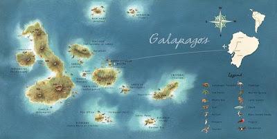 galapagos mapa