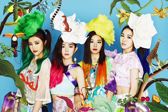 red velvet happiness irene wendy yeri joy seulgi