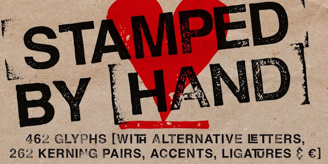 Download Hand Stamp Swiss Rough Sans Fonts Free