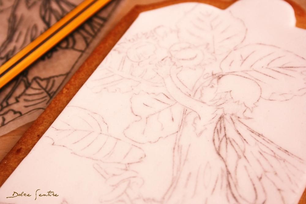 Y por fin llegó el Otoño: consejos útiles para pintar sobre fondant| Painting on fondant tips