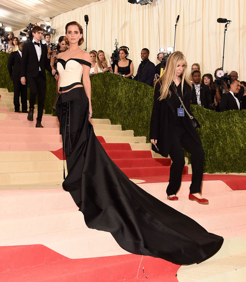Best dressed at Met Gala 2016 | ManusXMachina, Emma Watson Met Gala 2016 red carpet