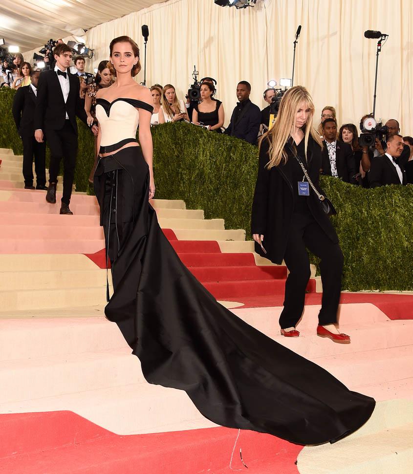 Best dressed at Met Gala 2016 | ManusXMachina, Emma Watson Met Gala 2016 red carpet