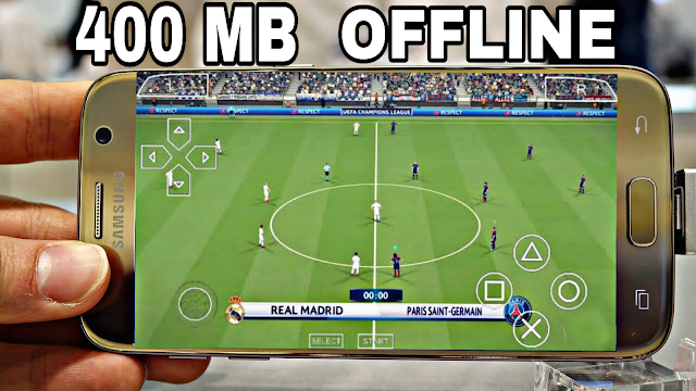 DOWNLOAD PES 2018 Offline 400 MB Best Graphics (Android/IOS)