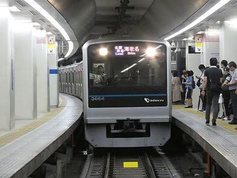 【突発的な運用!】小田急線 海老名行き 3000形フルカラーLED