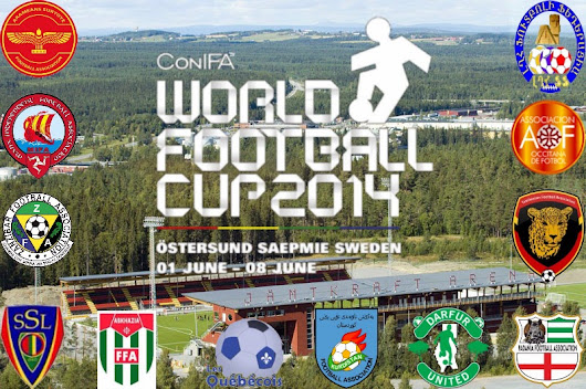 Groups drawn for maiden ConIFA World Football Cup