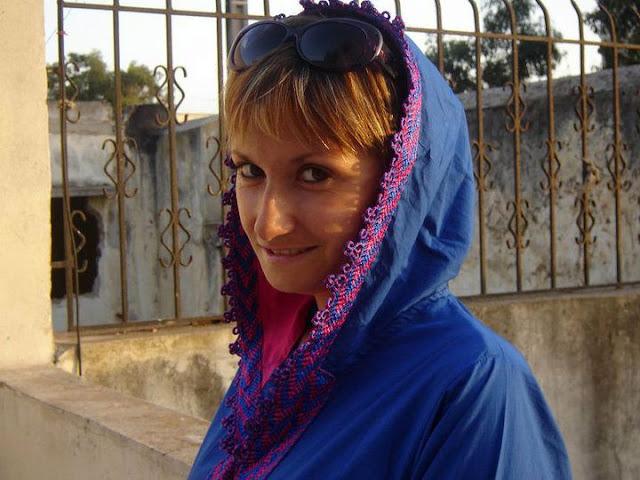 W marokańskim stylu na niebiesko #2 – jilaba