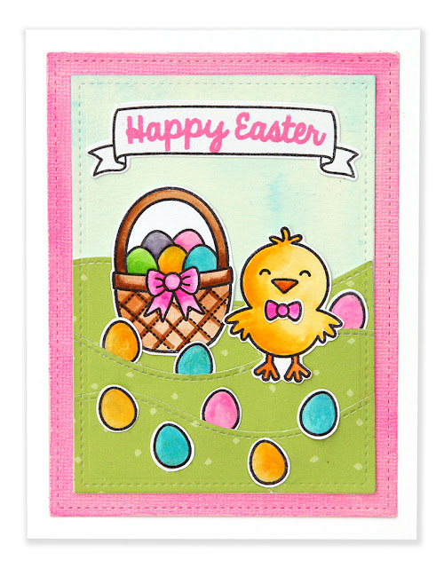 Sunny Studio Stamps: A Good Egg Happy Easter Card by Suzy Plantamura.