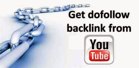 Get High PR 9 Dofollow Backlinks From Youtube