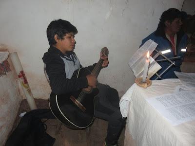 Miguel, mein Gitarrist