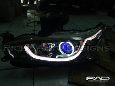 modif headlamp yaris