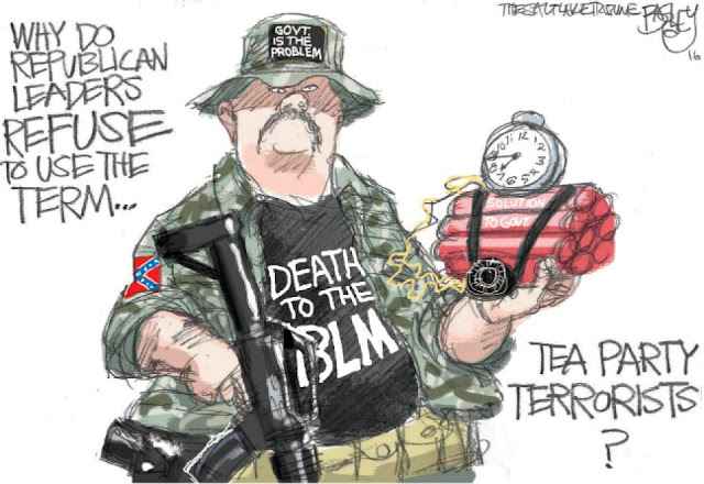 Image of the teabagger who tried to bomb a BLM building with the question,