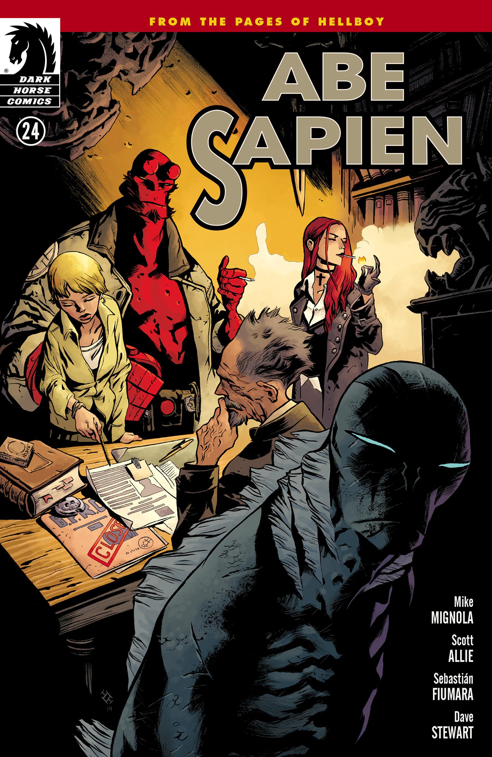 Read online Abe Sapien comic -  Issue #24 - 1