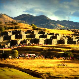 Ruínas de Sacsayhuaman, em Cusco