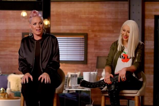 Pink se declara fan de Christina Aguilera luego de 15 años de rivalidad