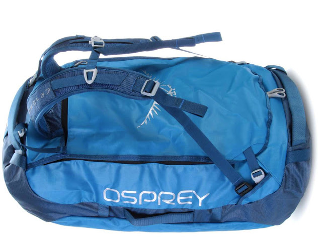 Osprey Transporter 95 - straps convert it into a backpack