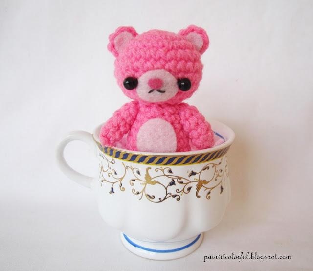 Amigurumi Oval Pattern : Amigurumi Teddy bear pattern - A little love everyday!