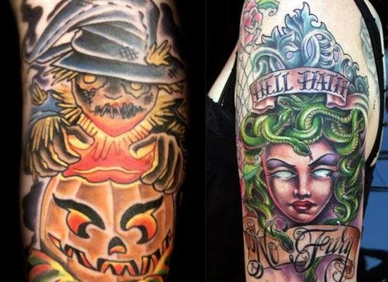 Halloween Tattoo Ideas: Ezee Beauty: 30 Tattoo Designs For Halloween