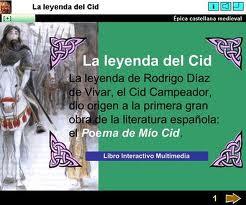 La Leyenda del CID (Libro interactivo)