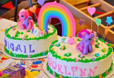kue ulang tahun kuda poni