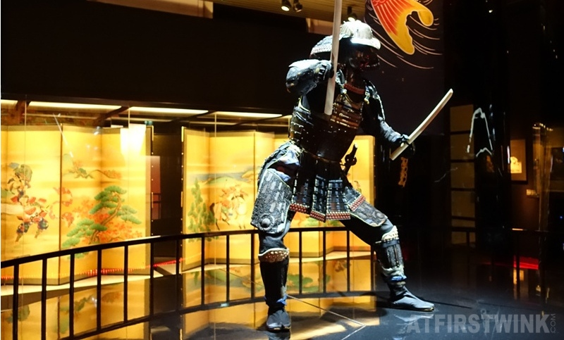 Museum volkenkunde leiden Netherlands Cool Japan exhibit samurai