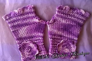"""Ръкавици """"Романтична принцеса"""" 5"""