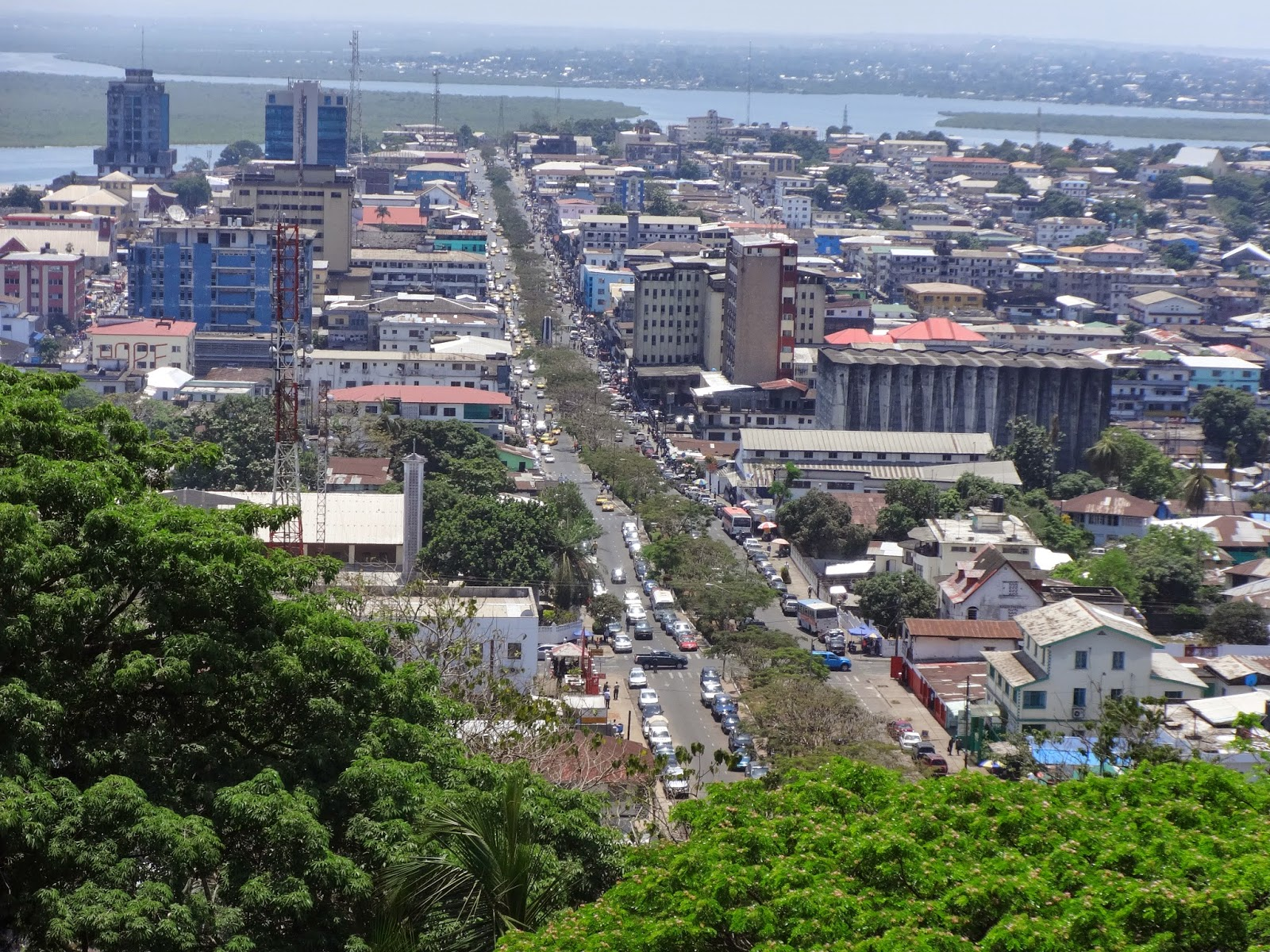 MONROVIA - THE CAPITAL OF LIBERIA