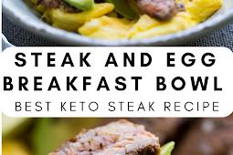 Steak and Egg Breakfast Bowl (Keto Friendly)